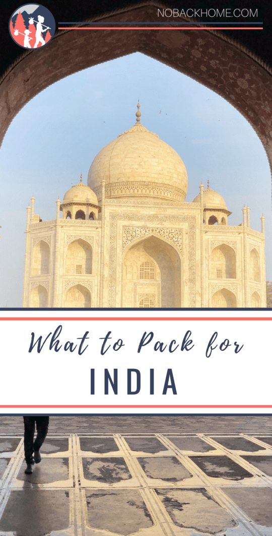 What to pack for India and what you should buy there! No-no's and packing ideas included!