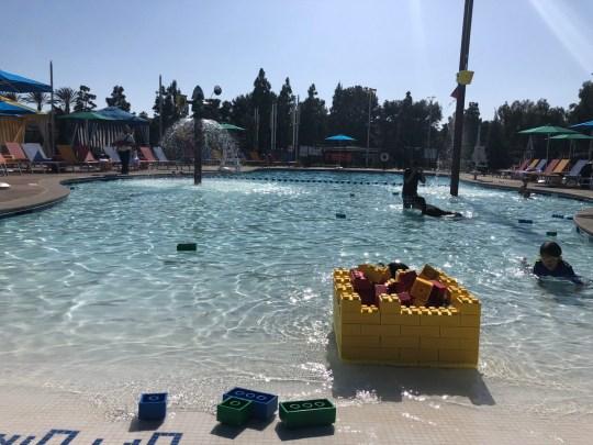 Legoland Castle Hotel Pool