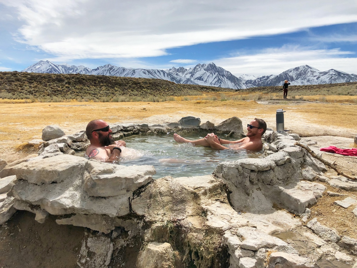The Best Natural Hot Springs Near Mammoth - No Back Home