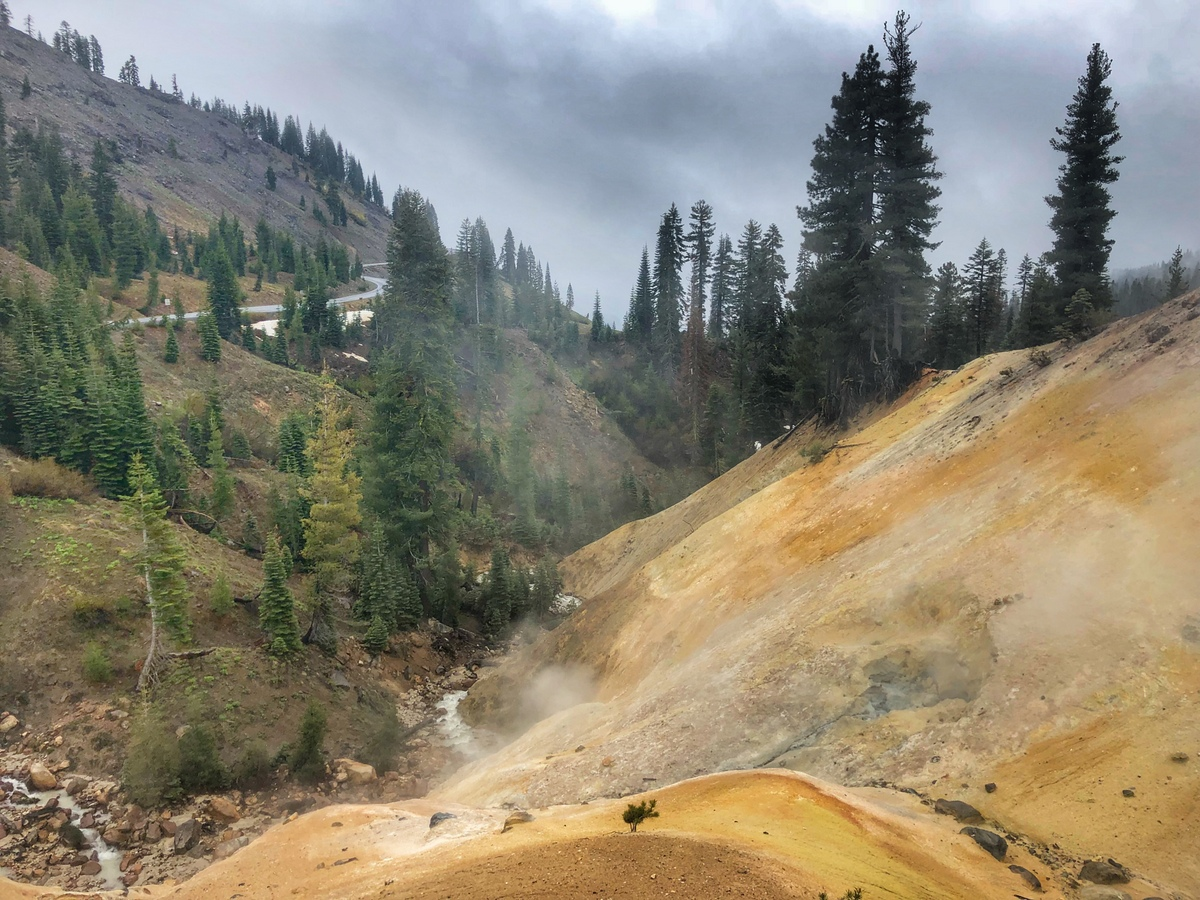 Exploring Lassen Volcanic National Park (with Kids)