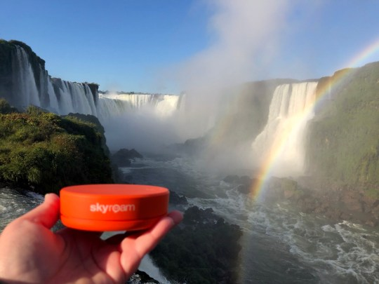 Portable Wifi Hotspot provides great value all over the world, including at Iguazu Falls in Brazil