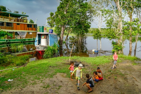 Giving back to the communities on the Amazon River Cruise
