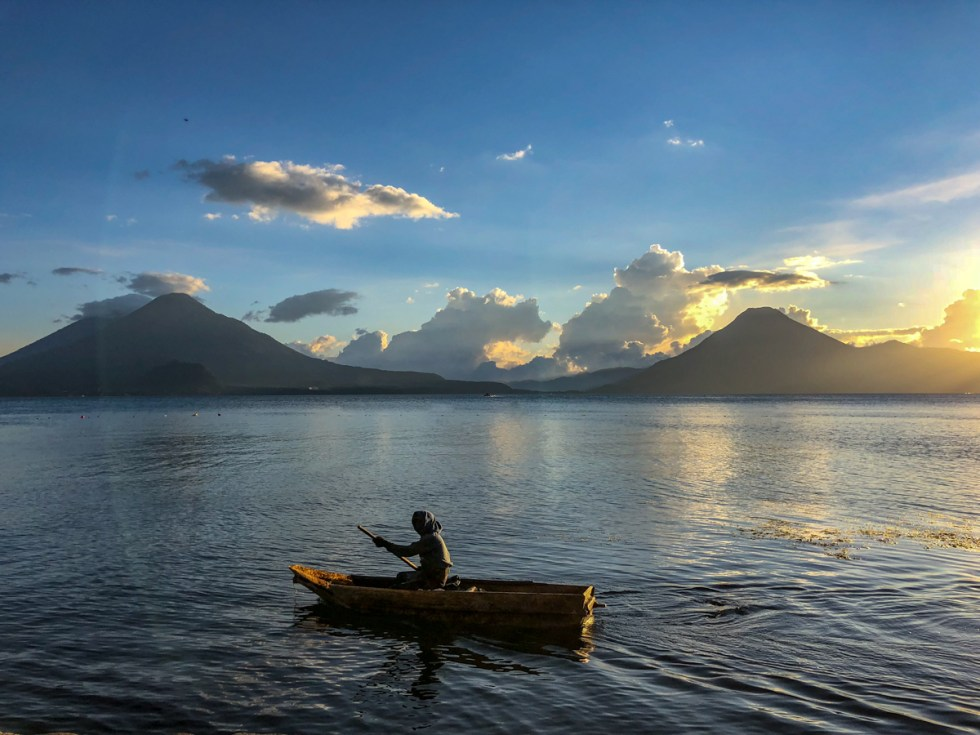 One of the best places to learn spanish in Guatemala is at Lake Atitlan