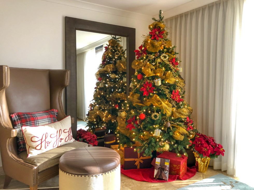 The Christmas Suite at the Cliffs Resort Pismo Beach