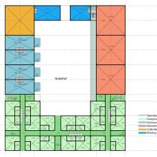 Nobelhof bouwtekening 1ste verdieping