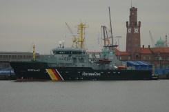 """Fischereischutzboot """"Seefalke"""""""