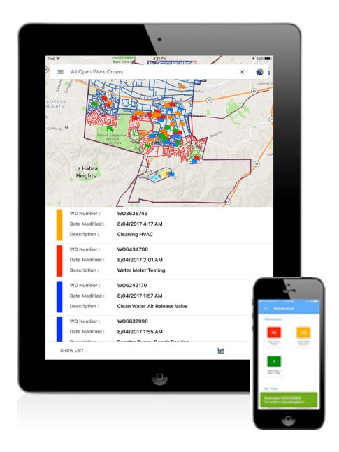 GeoViewer Mobile Work Order