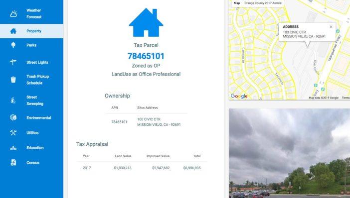 GeoViewer Public Property Tax data