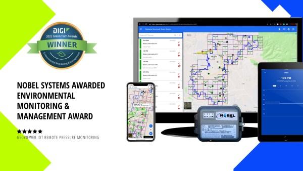 Nobel systems Awarded Environmental Monitoring & Management Award