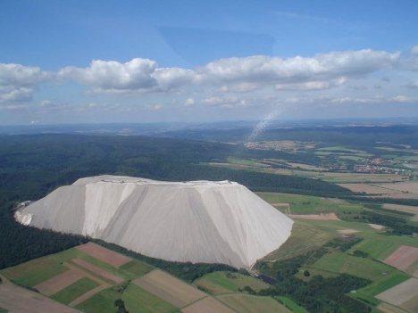 A big pile of salt