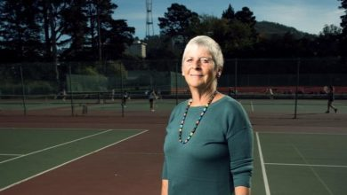 Photo of SF Improves Its Tennis Game
