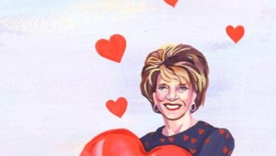 Photo of Judy Guggenhime, Queen of Hearts