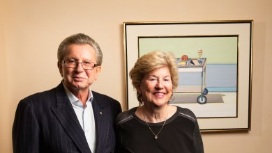 Photo of The Interview: Judy and George Marcus, Peninsula Power Couple