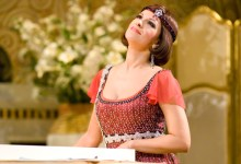 Soprano Angela Gheorghiu made her SF Opera company debut in 2007 in Puccini's La Rondine. (Photo courtesy of SF Opera)