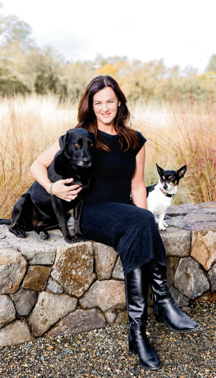 Despite a love of adventure — and great heights — Shannon O'Shaughnessy, above, owner and founder of Aileron Estates, is feeling grounded these days.