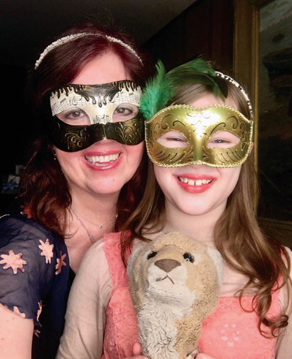 Tracy Grant and daughter Melanie