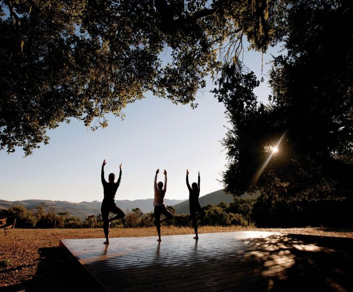 The best of both worlds includes a splurge at the Market at Carmel Valley Ranch after a session of Hilltop Yoga — only available during the summer months.