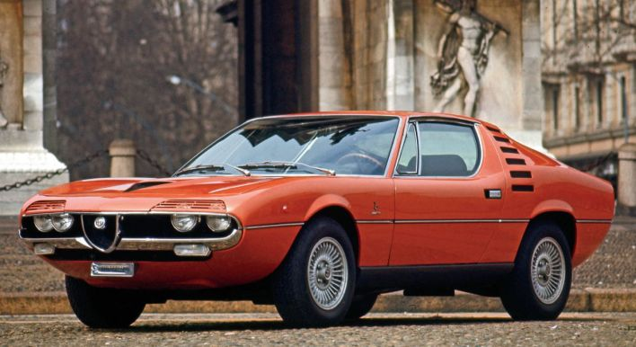 Alfa Romeo Montreal (Quail) Alfa Romeo's stunning Montreal with Bertone coachwork is one of The Quail's honored marques this year.