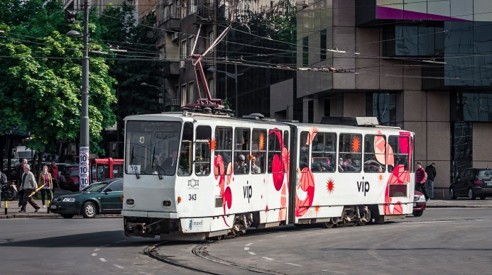 Tramway in Belgrade