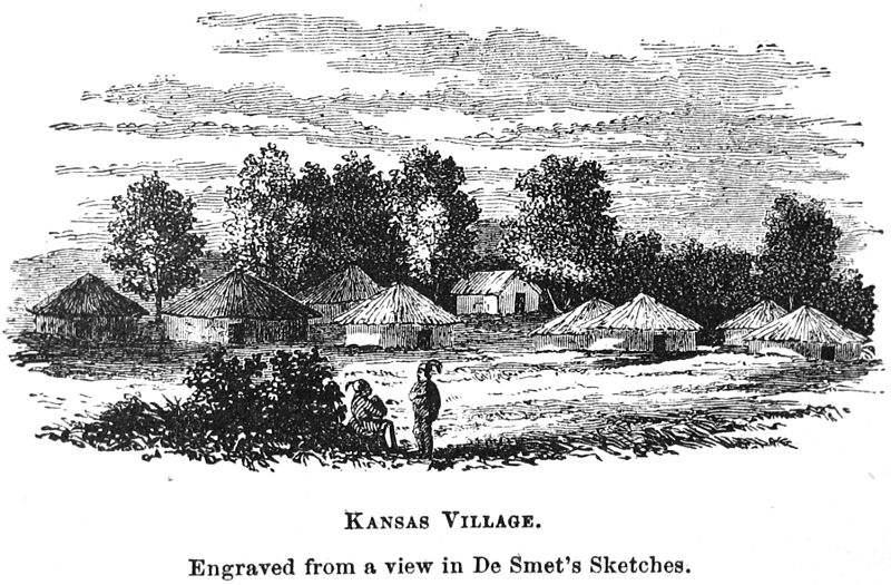 Kansas Indian village