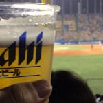 野球観戦はとても安価な娯楽だ。ビールもうまい!