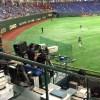 【東京ドーム観戦記】東京ドームのレフトスタンドのバックスクリーン横での観戦