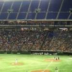 イースタン・リーグin Tokyo domを観戦してきた。