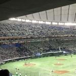 7月の東京ドームの都市対抗野球
