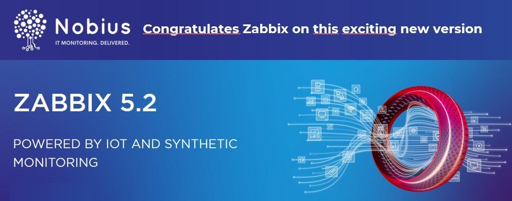 Nobius congrats Zabbix 5.2