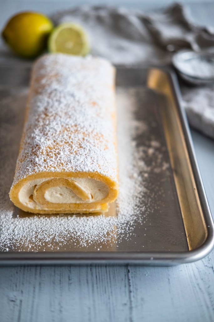 lemon-cake-roll