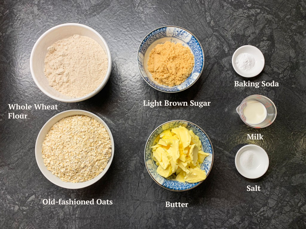 Ingredients for Digestive Biscuits