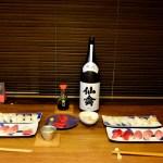 かみさんのタンメン de ランチ 夜は天然南マグロ、本マグロ、本ミル貝、平目 de 寿司