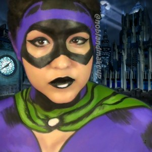 Catwoman body paint instagram