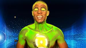 Green Lantern Body Paint Tutorial