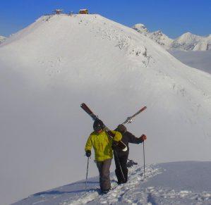 touring ski hills okanagan