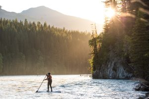 tours by kayak and sup boards