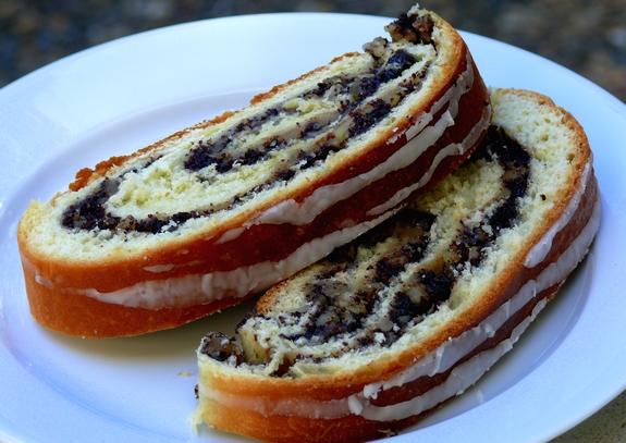 Polish Poppy Seed Coffee Cake