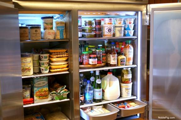 Image result for stocked up fridge