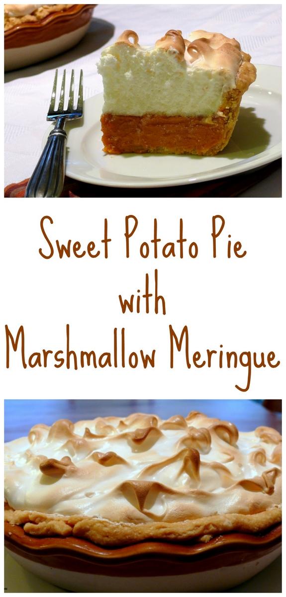 Sweet Potato Pie With Marshmallow Meringue VIDEO Noble Pig