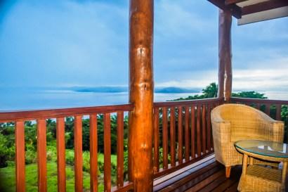 Four Pavilion Home, Soqulu, Taveuni Estates, Fiji - Deck View 6