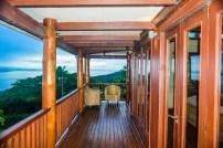 Four Pavilion Home, Soqulu, Taveuni Estates, Fiji - Deck View 2