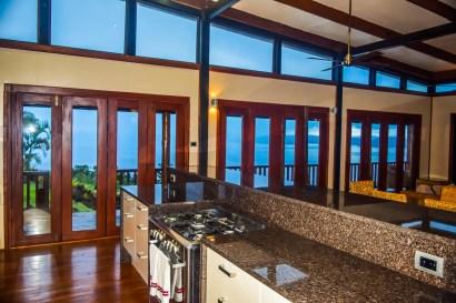 Four Pavilion Home, Soqulu, Taveuni Estates, Fiji - Kitchen View