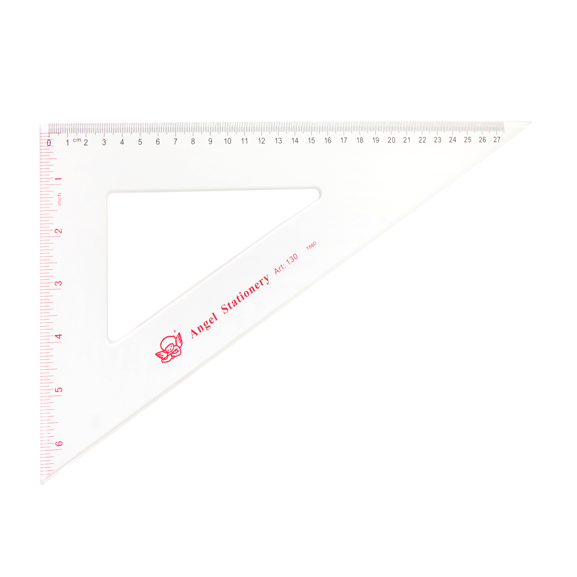 30cm Angel Acrylic Triangle Set Square