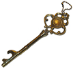 antique ornate key