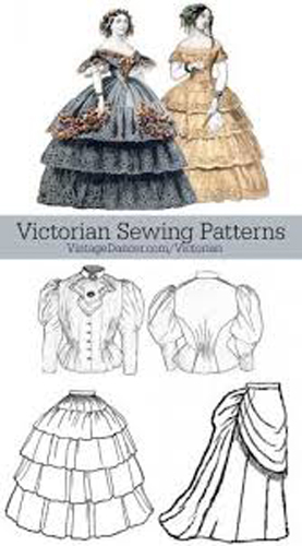 Early Sewing Patterns | Noble Treasures Antiques | Lafayette, CO