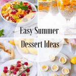 Easy Summer Dessert Ideas