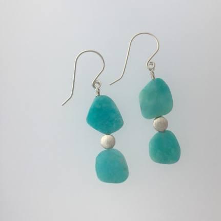 OceanBreeze_PeruvianAmazonite_w_Brushed_SS_earrings_II_Optimizilla_26Sep2019