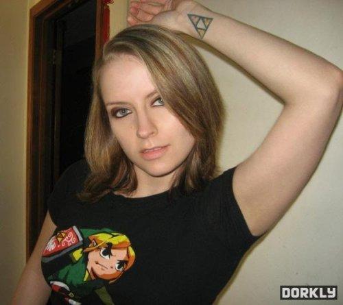 Legend Of Zelda Triforce Tattoo