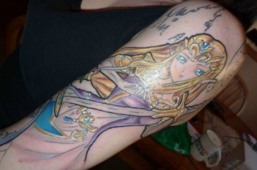 Zelda Tattoo by *LEGENDofLMPF