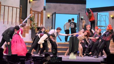 Photo of Lively Students and a Drowsy Chaperone